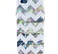 Sequins Ripple Pattern TPU Soft Case for iPhone 5C