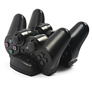 1pcs Dock Charger USB Powered Dual Charging for for for PS3 Controller and Move Navigation Hot New