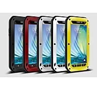Para Samsung Galaxy Capinhas Água / Dirt / à prova de choque Capinha Corpo Inteiro Capinha Armadura Metal Samsung A3