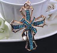 porte-clé croix chrétienne