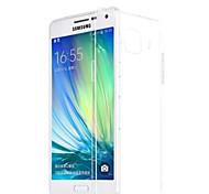 capa de silicone para trás transparente para Samsung Galaxy a5