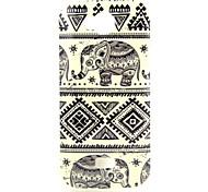 Elephant  Pattern TPU Soft Case for  WIKO IGGY