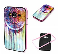 2-in-1 Oil Painting Pattern TPU Back Cover with PC Bumper Shockproof Soft Case for Samsung Galaxy Core Prime G360/G3608