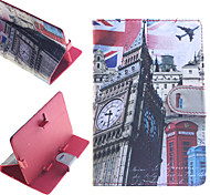 Big Ben Pattern PU Leather Full Body Cases for 7' Google/Asus/Amazon Tablet/Huawei/Acer