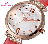 famosa marca de grande número de mulheres de quartzo relógio de moda senhoras vestido ocasional relógio de strass relógio de pulso