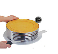 моды металла круг регулируемые шифон из нержавеющей стали мусс слой ломтерезным выпекание варка торт сс-43