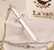 Euner® HOT The Expendables 3 Stallone Same Design Men Necklace Sword Pendants High Quality Chain Necklace