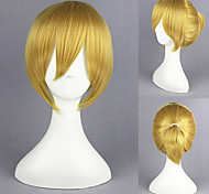 14inch parrucca oro anime cosplay vocaloid-len