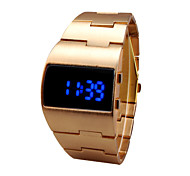 Men's Watches Fashion Automatic Self Wind LED Feature Steel  Band Material