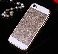 bling solide paillettes au dos du boîtier de protection pour iPhone 4 / 4s (couleurs assorties)