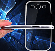 Transparent Back Case Cover for Samsung Galaxy S3 I9300