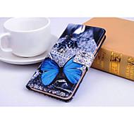 синий шаблон бабочка Полный Дело орган по cubot x10