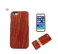 Handmade Natural Pure Wooden Hard Case Cover Fit for iPhone 6(4.7 Inch)