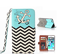 Graphic/Special Design PU Leather/TPU Case with Kickstand/Wallet Case/Back Cover for iPhone 6