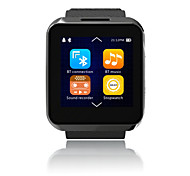 Uwell Z023 Smart Watch, Bluetooth4.0/ Hands-Free Calls/Message Control /Heart Rate Monitor for Android/iOS
