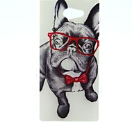 Eye Dog Pattern Soft TPU Case for Sony Xperia M2