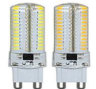 1 pcs  G9 9 W 104LED X SMD 3014 600-750 LM 2800-3500/6000-6500 K Warm White/Cool White Corn Bulbs AC 220 V
