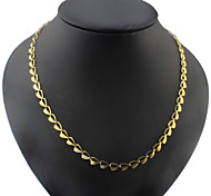 Titanium Steel Necklace Chain Necklaces Party/Casual 1pc