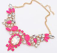 Candy Color Geometry Necklace