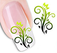 Water Transfer Printing Nail Stickers NO.1258