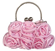 Handbag Silk Evening Handbags/Clutches With Flower