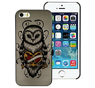 Unique Owl Design PC Hard Case for iPhone I4