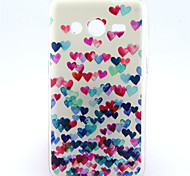 For Samsung Galaxy Case Pattern Case Back Cover Case Heart TPU Samsung Core 2