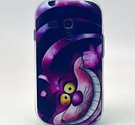Big Face Cat Pattern TPU Soft Cover for Samsung Galaxy S3 MINI I8190