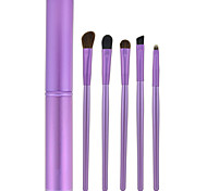 5 Makeup Brushes Set Nylon Face / Lip / Eye Others