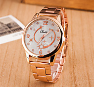 Z.xuan Women's  Steel Band Analog Quartz Casual Watch More Colors