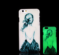 Beauty Pattern Glow in the Dark Case for iPhone 6 Cover
