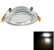 YouOKLight® 3W 250lm  White Light/White LED Ceiling  Lamp  (AC 100~240V)
