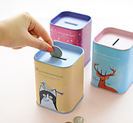 Cute Metal Coin Banks(Random Color)