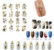 - Finger - 3D Nails Nagelaufkleber - Andere - 1 Stück - 21.5*18.5*0.05 cm