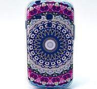 rosa Sonnenblumenmuster weiche Tasche für Samsung-Galaxie S3 i8190 Mini