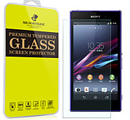 Mr.northjoe® Tempered Glass Film Screen Protector for Sony Xperia Z1 / L39h