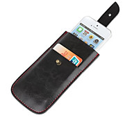 Turtleback Vertical  Leather Holster Case Pouch for Apple IPhone 5S/5 (Black)