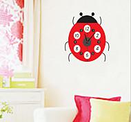 Fashion 3D DIY Beatles Pattern Clock Wall Sticker