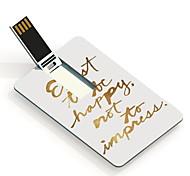 64gb sea tarjeta de diseño de memoria USB usb feliz