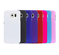 Pajiatu Hard Mobile Phone Back Cover Case Shell for Samsung Galaxy S6 G9200 (Assorted Colors)