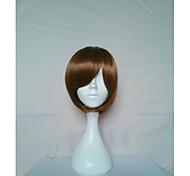 парики стильный парик косплей парики натуральные женщины коричневые короткие прямые анимированные парики из синтетических волос