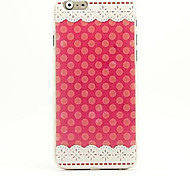 Pink Lace Pattern Case for iPhone 6