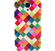 patrón de la geometría TPU suave para mini i9190 Samsung Galaxy S4