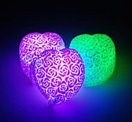 W ) - Multicolor - Batería - A Prueba de Agua - Lámparas de Noche V )