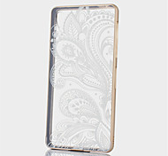 estructura de metal patrón caso duro lleno de flores parís repujado para z3 Sony Xperia (colores surtidos)