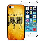 Zebra Design PC Hard Case for iPhone 4/4S