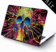 The Colorful Skull Design Full-Body Protective Plastic Case for 11-inch/13-inch New MacBook Air