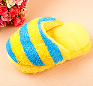 Colorful Stripe Plush Slipper for Little Dogs
