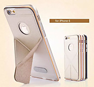 iPhone 6 Plus Metal Frame + High-Grade Nappa Leather 360 Degree Protection