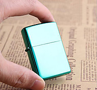 Luxurious Green Bright Chrome Plated Kerosene Lighter